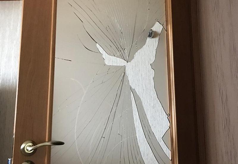 Если праздник принес в подарок разбитое стекло