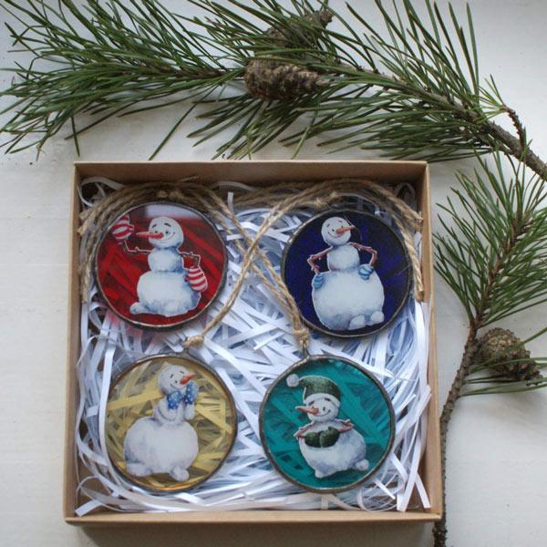 Снеговики сувениры