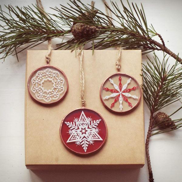Снежинки сувениры