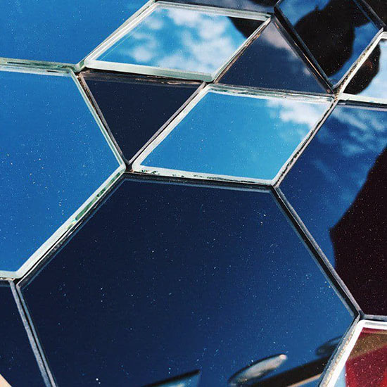 Мозаика стекляннная